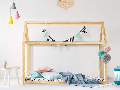 cama baja niños pequeños