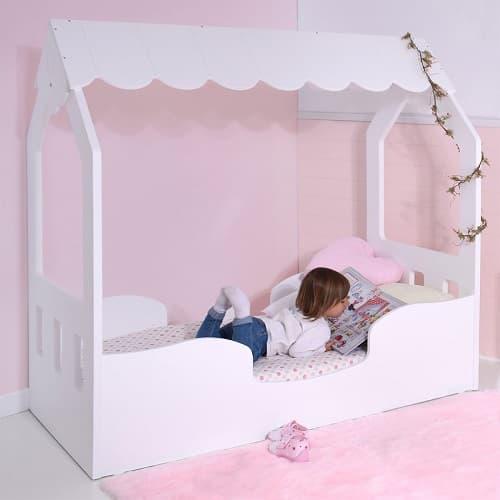 cama casita infantil niña montessori