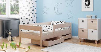cama infantil con cajones