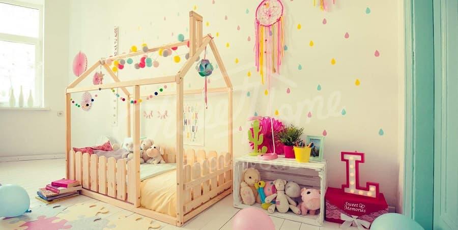 cama infantil montessori casita