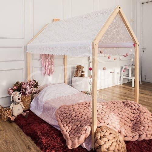 camas para ninos casita